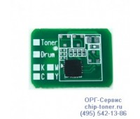 Чип картриджа OKI C8600, OKI C8800 Желтый