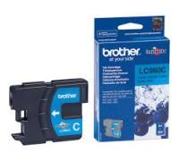 Картридж голубой Brother LC980C ,оригинальный