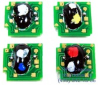 Чип желтого картриджа HP Cp1215/1515N/1518NI/CM1312K