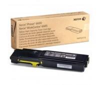 Картридж 106R02235 желтый для Xerox Phaser 6600 / Workcentre 6605 оригинальный