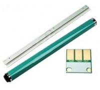 Комплект восстановления цветного фотобарабана Develop ineo +224 (фотовал ,лезвие ,чип) совместимый