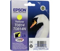 Картридж желтый Epson T0814 оригинальный