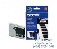 Струйный картридж черный Brother LC1000BK оригинальный
