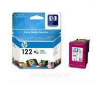 Картридж струйный HP 122 цветной, оригинальный