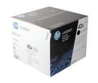 Комплект оригинальных картриджей HP LaserJet LJ 4250 / 4350 в комплекте  2 шт оригинальный